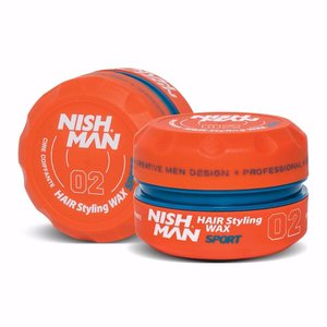 Nishman Nishman 02 Hair Styling Wax Sport - 150 Ml