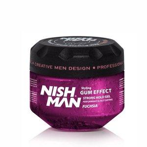 Nishman Nishman Gel Gum Effect Ultra Hold - 300 Ml