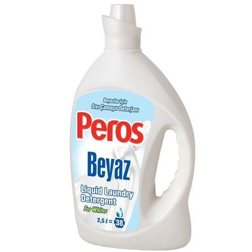 Peros Peros Vloeibare Wasmiddel Wit - 2.5 Liter