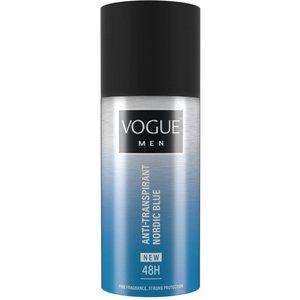 Vogue Vogue Men Deospray Anti-Transpirant Nordic Bleu - 150 Ml