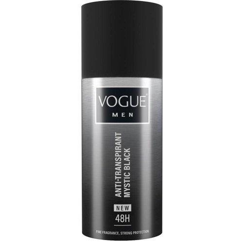 Vogue Vogue Men Deospray Anti-Transpirant Mystic Black - 150 Ml