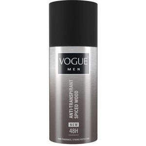 Vogue Vogue Men Deospray Anti-Transpirant Spiced Wood - 150 Ml