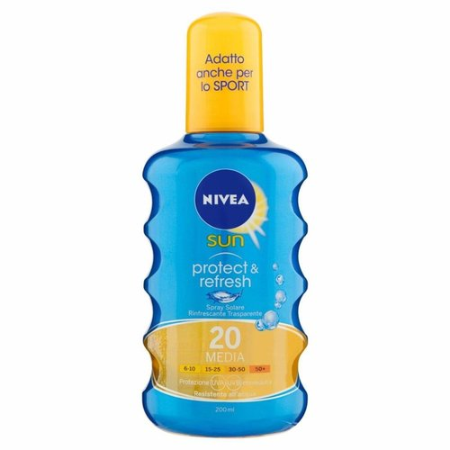 Nivea Nivea Sun Protect & Refresh Spf 20 - 200 Ml