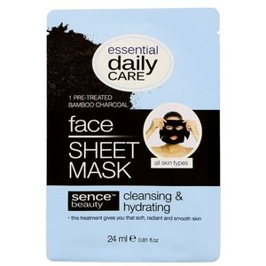 SENCEBEAUTY Sencebeauty Face Sheet Mask Charcoal - 24 Ml