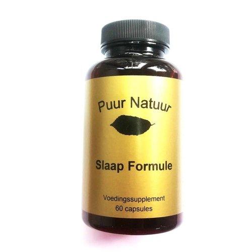 Puur Natuur Puur Natuur Slaap Formule - 60 Tabletten