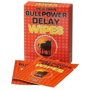 Bull Power Bull Power Delay Wipes - 6 Stuks