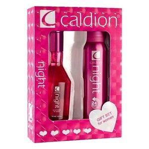 Caldion CALDION NIGHT WOMEN EDT 100ML & DEO 150 ML - 1 STUKS