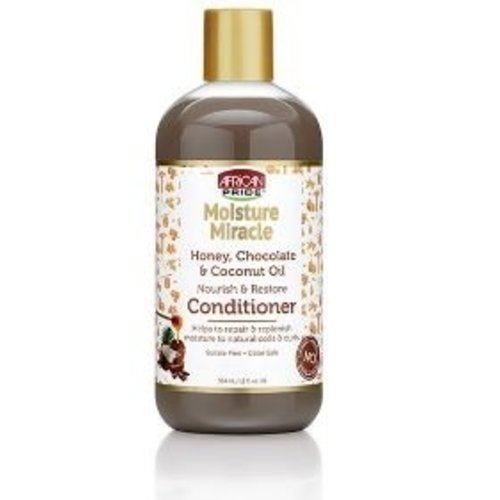 African Pride African Pride Moisture Miracle Honey, Chocolate&Coconut Oil Conditioner