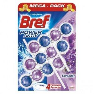 Bref Bref Power Aktive Toiletblok Lavendel 4 In 1 - 3 Stuks