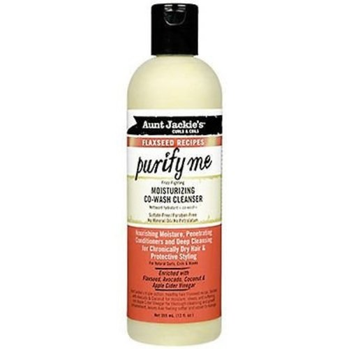Aunt Jackie's Aunt Jackie's Curls & Coils Flaxseed Recipes Purify Me Moisturizing Co-Wash Cleaner 355 ml
