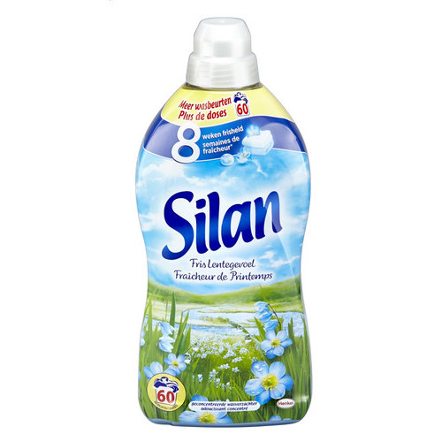 Silan Silan Wasverzachter fris lentegevoel 1.5l 55 wasb.