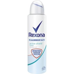 Rexona Rexona Women Deospray Active Shield Fresh 0% Aluminium - 150 Ml