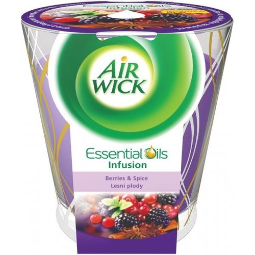 Airwick Airwick Essentail Oils Geurkaars Berries & Spice - 105 Gram