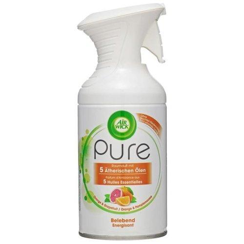 Airwick Airwick Pure Spray orange & grapefruit - 250 Ml
