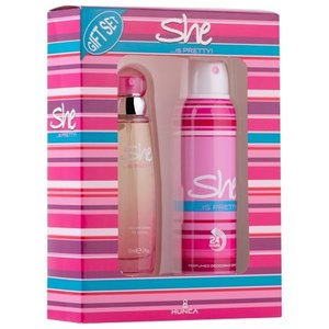 She SHE IS PRETTY CADEAUVERPAKKING EDT SPRAY 50 ML & DEO 150 ML - 1 STUKS
