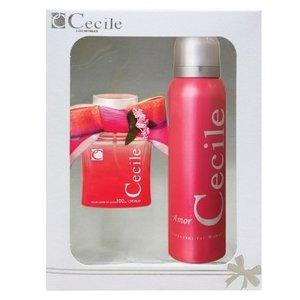 Cecile CECILE WOMEN AMOR CADEAUSET 100 ML EDT & 150 ML DEODORANT SPRAY - 1 STUKS