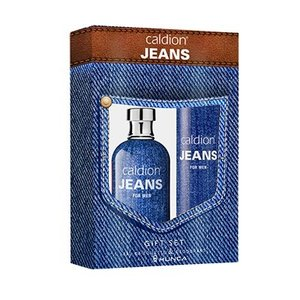 Caldion Caldion Jeans For Men 100 Ml Edt & Deo 150 Ml - 1 Stuks