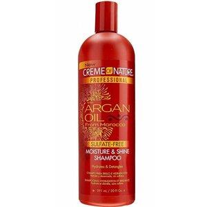 Creme of Nature Creme Of Nature Argan Oil Moisture & Shine Sulfate -Free Shampoo 591 ml