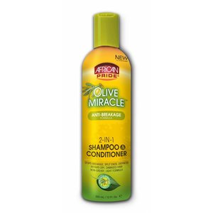African Pride African Pride Olive Miracle Anti-Breakage 2-In-1 Shampoo & Conditioner 355 ml