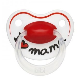 Bibi Bibi Fopspeen Papa Of Mama 16+ M - 1 Stuks