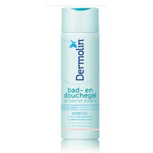 Dermolin Dermolin Bad&Douchegel Parfumvrij - 200 Ml
