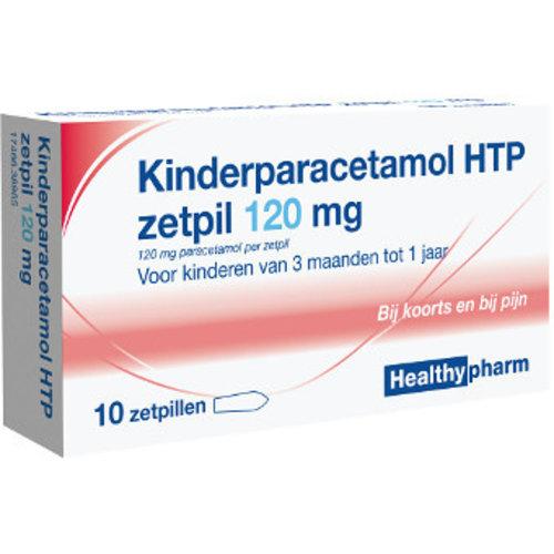 Healthypharm Healthypharm Paracetamol Zetpil 120 Mg - 10 Sup