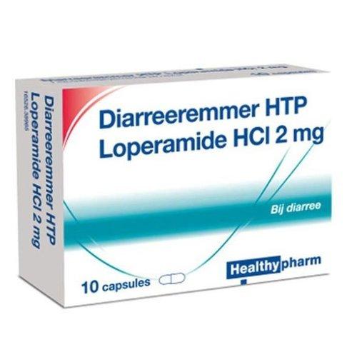 Healthypharm Healthypharm Diarree Remmer 2mg - 10 Capsules