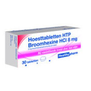 Healthypharm Healthypharm Hoesttabletten Broomhexine 8mg - 30 Tabletten
