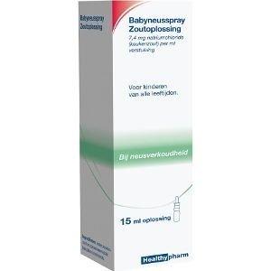 Healthypharm Healthypharm Babydoseerspray Zoutoplossing - 15 Ml