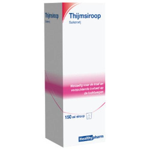 Healthy Healthy Thijm Siroop Suikervrij - 150 Ml