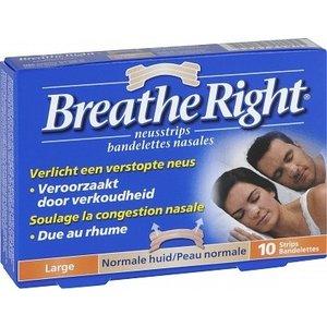 Breathe Breathe Right Tanned Large - 10 Stuks