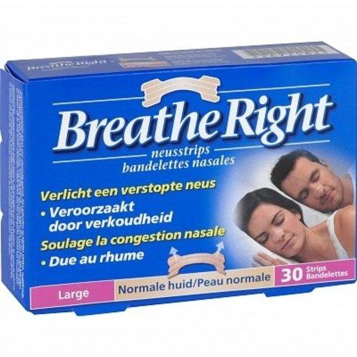 Breathe Breathe Right Tanned Large - 30 Stuks