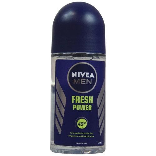 Nivea Nivea For Men Deoroller Power Fresh - 50 Ml