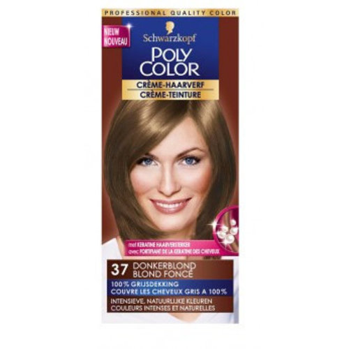 Poly Color Poly Color Creme 37 Donkerblond - 1 Stuks