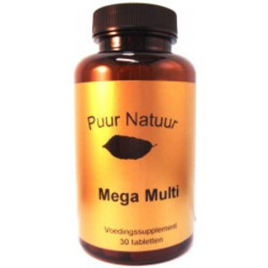 Puur Natuur Puur Natuur Mega Multi - 30 Tabletten