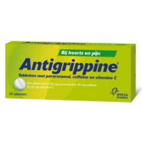 Antigrippine Antigrippine Tabletten - 20 Stuks