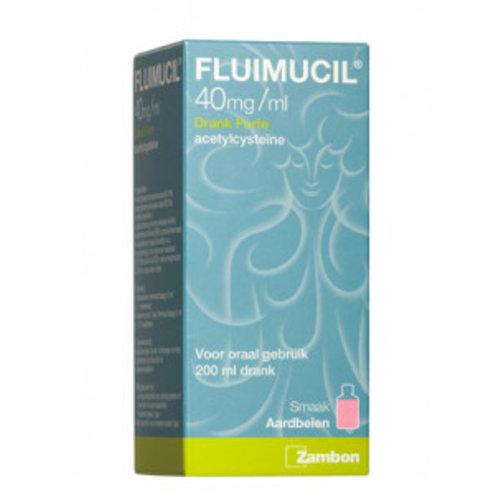 Fluimucil Fluimucil Drank Forte 40mg - 200 Ml