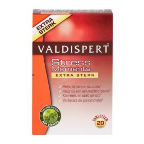 Valdispert Valdispert Stress Moments Extra Sterk - 20 Tabletten