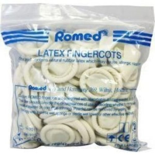 Romed Romed Vingercondooms Latex M 100 Stuks