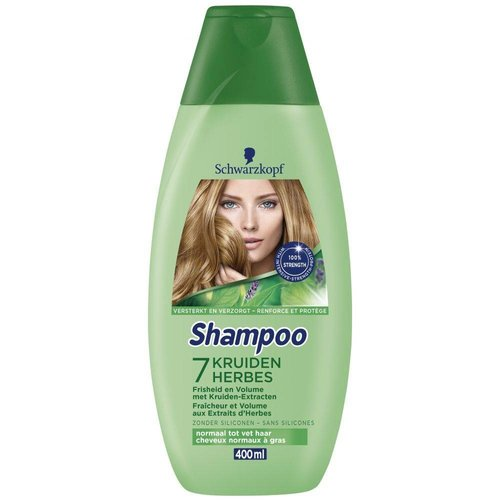 Schwarzkopf Schwarzkopf Shampoo 7 Kruiden - 400 Ml