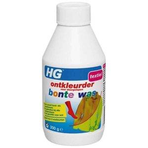 Hg Hg Ontkleurder Voor Doorgelopen Bonte Was - 200 Gram