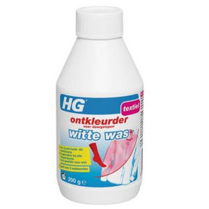 Hg Hg Ontkleurder Witte Was - 200 Gram