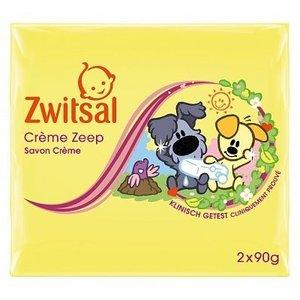 Zwitsal Zwitsal Creme Zeep Duo Woezel&Pip2x90 Gram