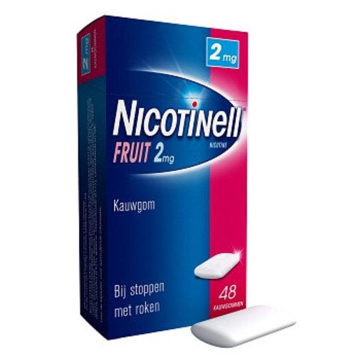 Nicotinell Nicotinell Kauwgom 2mg Fruit - 48 Stuks
