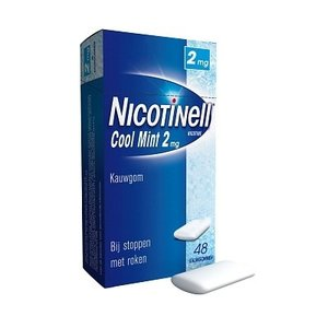 Nicotinell Nicotinell Kauwgom 2mg Mint - 48 Stuks