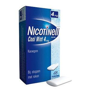 Nicotinell Nicotinell Kauwgom 4mg Mint - 48 Stuks