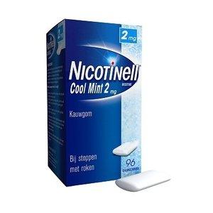Nicotinell Nicotinell Kauwgom 2mg Mint - 96 Stuks