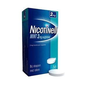 Nicotinell Nicotinell Zuigtablet 2mg Mint - 36 Tabletten