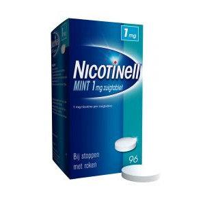 Nicotinell Nicotinell Zuigtablet Mint 1mg - 96 Stuks