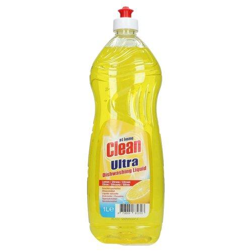 At Home At Home Clean Afwasmiddel Citroen - 1 Liter
